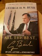 George H W Bush Signed 'all The Best' Book