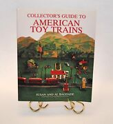 Collectorand039s Guide To American Toy Trains 234 Page Paperback Train Book Andcopy 1990