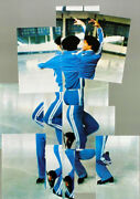 Lot Of 6 Original 1984 Winter Olympic Games Commemorative Lithograph Posters