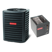 4 Ton 13 Seer Goodman Air Conditioning Condenser And Coil Gsx130481 - Capf4860d6