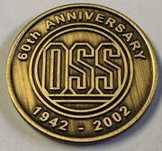 Cia Oss Office Of Strategic Services 60th Anniversary Socom Special Ops Command