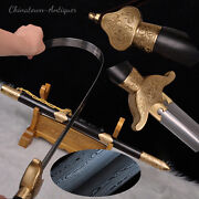 Martial Arts Kung-fu Tai-chi Soft Sword Folded Steel Blade Copper Fittings 2346