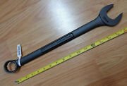 Usa Made Craftsman Industrial 32mm Black Oxide Finish Wrench Metric Combination
