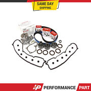 Timing Belt Kit Water Pump Valve Cover For 90-96 Nissan 300zx Nonturbo Vg30de