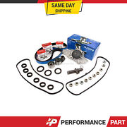Timing Belt Kit Aisin Water Pump Valve Cover Gasket For Acura Honda J32a J35a