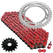 Red Drive Chain And Sprocket Kit For Suzuki Tl1000r 1998 1999 2000 2001 2002