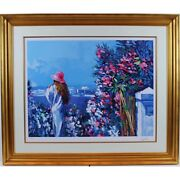 Le Jardin By Nicola Simbari - A Limited Edition Serigraph On Paper