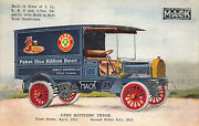 Allentown Pa Pabst Blue Ribbon Beer Mack Delivery Truck Postcard