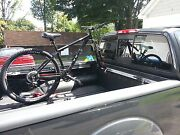 Bike Mount For Toyota Tacoma And Tundra - Road Bicycle Rack To Bed Rail Lockable