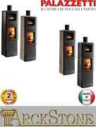 Stove Furnace Wood Air Warm Natural Palazzetti Eva S Oven Power 9 Kw