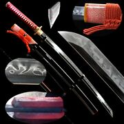 Japanese Sword Kobuse Forged Multiple-refined Folded Steel Clay Tempered 454