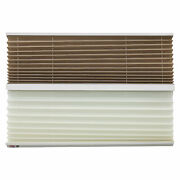 Rv Day And Night Pleated Shades Cotton/sand Stitchbond 38 X 24