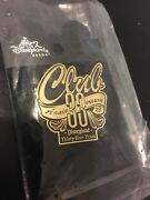 Disneyland Club 33 - 35th Anniversary Limited Edition 600 Pin New On Card And Bag