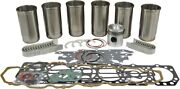 Engine Overhaul Kit Gas For Oliver 1750 1755 Tractors