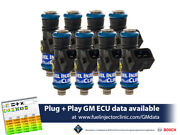 1650cc Fuel Injector Clinic Injector Set For Ls3/7 L76/92/99 Engines High-z