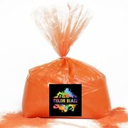 Color Blaze Powder Orange 25lbs -ideal For Runs And Holi Events, Color Wars And More