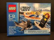 New In Box Lego City Surfer Rescue 60011 With 2 Mini Figures And Shark