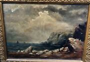 Amanda Brewster Sewell And039off The Coast Monhegan Maineand039 C. 1890
