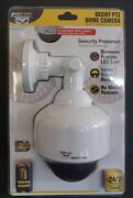 Night Owl Flashing Red Light Security Dome Camera Decoy Ptz - Factory Sealed