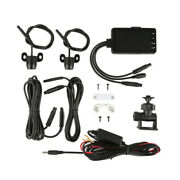 3 Lcd Motorcycle Dvr Recorder Video View Front And Rear Waterproof Dual Camera