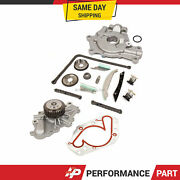 Timing Chain Kit Oil Pump Water Pump For 09-10 Dodge Chrysler 300 Magnum 2.7