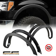 For 09-14 Ford F150 Oe Style Replacement Matt Black Fender Flare Wheel Protector