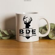 Best Dad Ever Mug | Gift For Dad | Personalized Dad Mug | Fathers Day Mugs