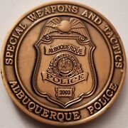 Albuquerque Abq Breaking Bad New Mexico Nm Police Dept Swat 2003 Coin
