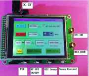 Hot Adf4350 Module Stm32 Sweep Rf Signal Source Tft Color Touch Screen