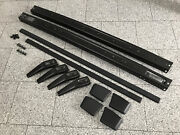 Golf 1 Gti Metal Bumper Black Powder Coated Complete Set Bar