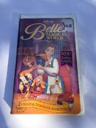 Disney Presents Belleand039s Magical World Vhs 12546 Sealed Brand New
