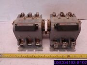 Furnas Reversing Magnetic Contactor 43hp32aa And Surge Suppressor 49d26344 Ser A