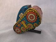Marx 5 Flip Over, Rollover Tank Wind Up Toy Works Army Tin Litho. Nice Piece.