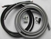 96-00 Civic 4dr Sedan Replacement Ss Fuel Feed And Rubber Return Line Kit Dx Lx Ex