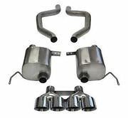Corsa Axle-back Exhaust System - Xtreme Sound 14766 For 2015-19 Chevy Corvette