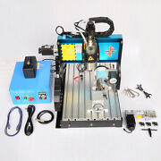 St 110v 1500w 3 Axis Cnc3040 Router Engraving Drilling Milling Machine Usb Port