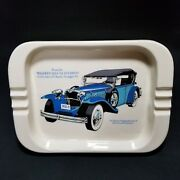 Walkers Deluxe Bourbon Collection Of Classic Straight-8s Ashtray Porcelain Vtg