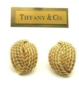 And Co Made In Germany 14k Gold Love Knot Earrings 1960 With Clipce607