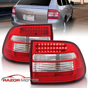 2003 2004 2005 2006 Porsche Cayenne Suv Red Clear Led Brake Tail Lights Pair