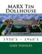 Marx Tin Dollhouse 1950's - 1960's, Like New Used, Free Shipping In The Us