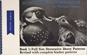 Full Size Decorative Decoy Patterns, Paperback By Veasey, William, Like New U...