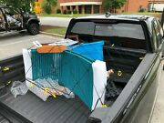 Cargo Net Bed Tie Down Hooks For Truck Pickup Compact Size 60 X 78 Brand New