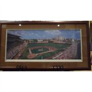 Wrigley Field Trytych By Andy Jurinko - Limited Edition Print On Paper