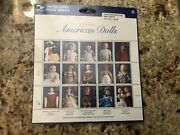 Usps Sheet Of 15 Stamps -classic American Dolls -porcelain 32cent