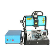 St 110v 300w 4 Axis 3040 Cnc Router Engraving Drilling Milling Machine Usb Port
