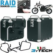 Side Panniers Cases Boxes 41 +47 Lt Quick Release Bmw 800 F Gs K72 And039 09and039/14