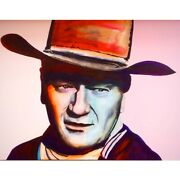 The Duke By Sean Cannon - Original One Of A Kind Painting On Canvas