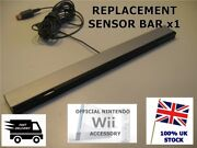 Official Genuine Nintendo Wii Sensor Bar Wii And Wii U - Wired Infrared Receiver