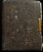 Antique Victorian King James Holy Bible With Photos By Francis Frith C.1869