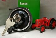 David Brown Cropmaster Tractor Genuine Lucas Oem Headlight Ignition Switch And Key